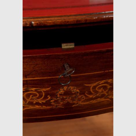 Bogenfront Schreibtisch 12768