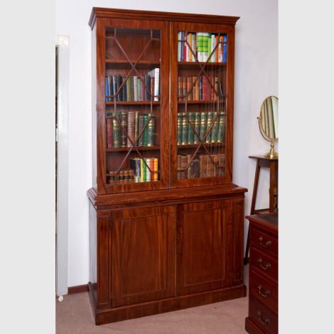 Zweitüriger Bücherschrank von sehr guter Qualität 12789