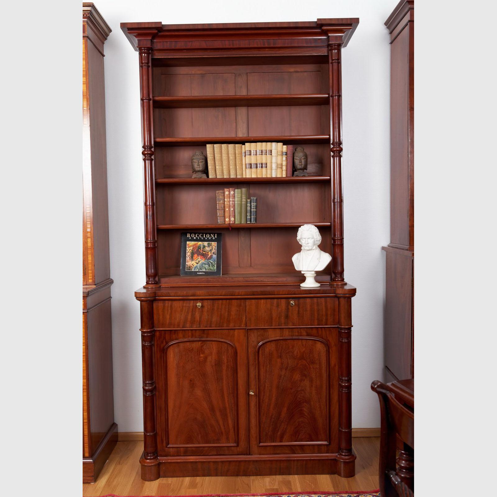 sehr seltenes b cherregal the english house. Black Bedroom Furniture Sets. Home Design Ideas