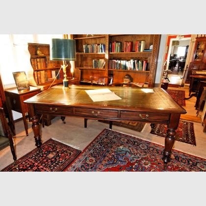Englischer Schreibtisch aus Mahagoni