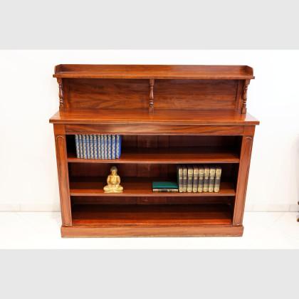 Hochwertiges Bücherregal aus Mahagoni
