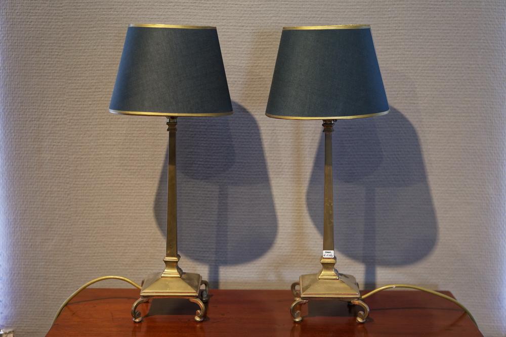 Paar Pullman-Lampen