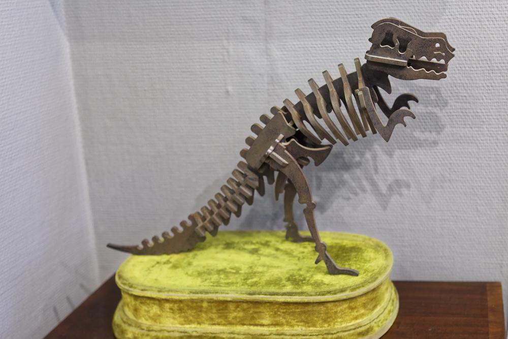 """Stahlskulptur """"Tyrannosaurus"""""""