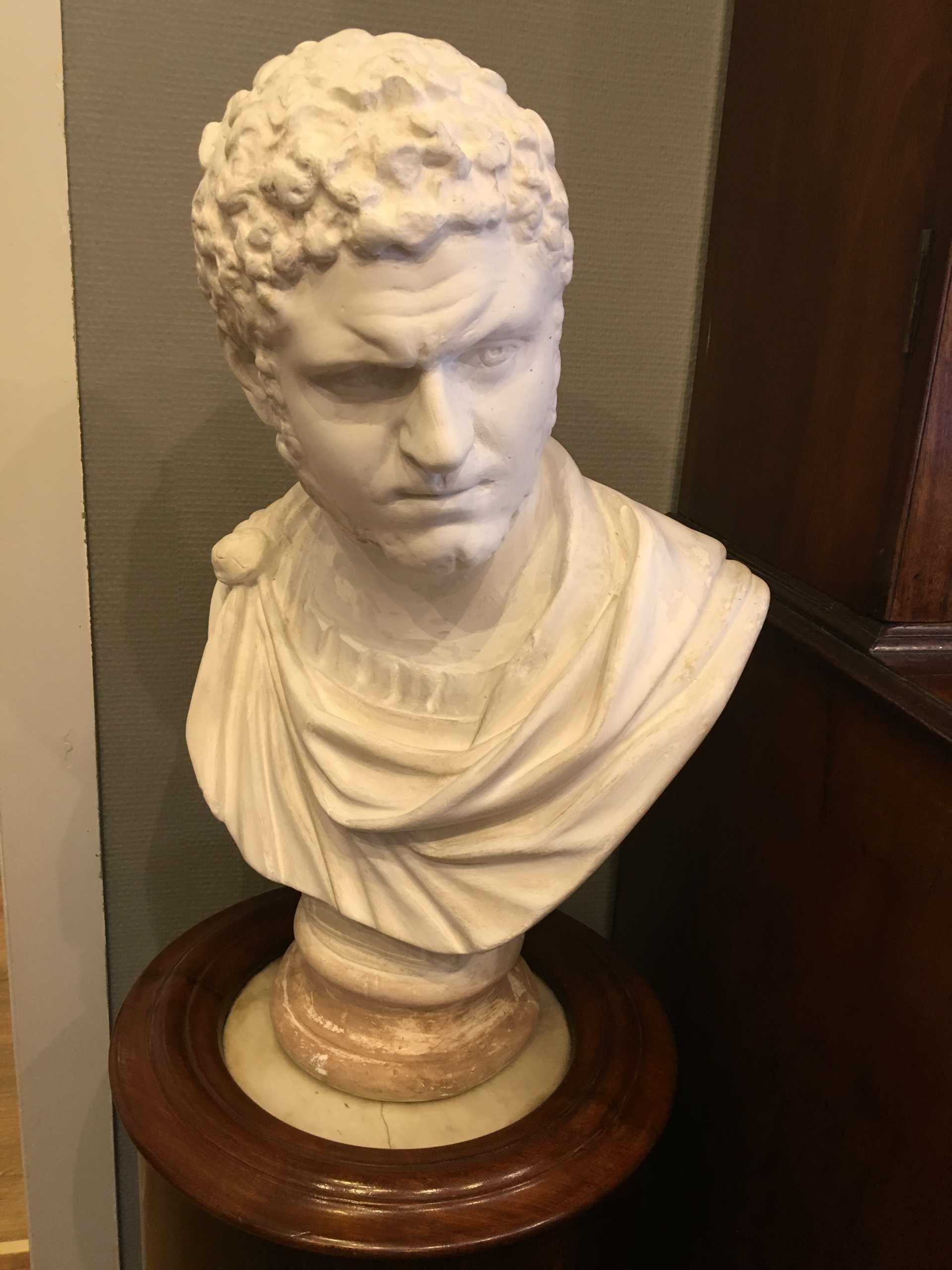 Büste Eines Römischen Kaisers, Gips