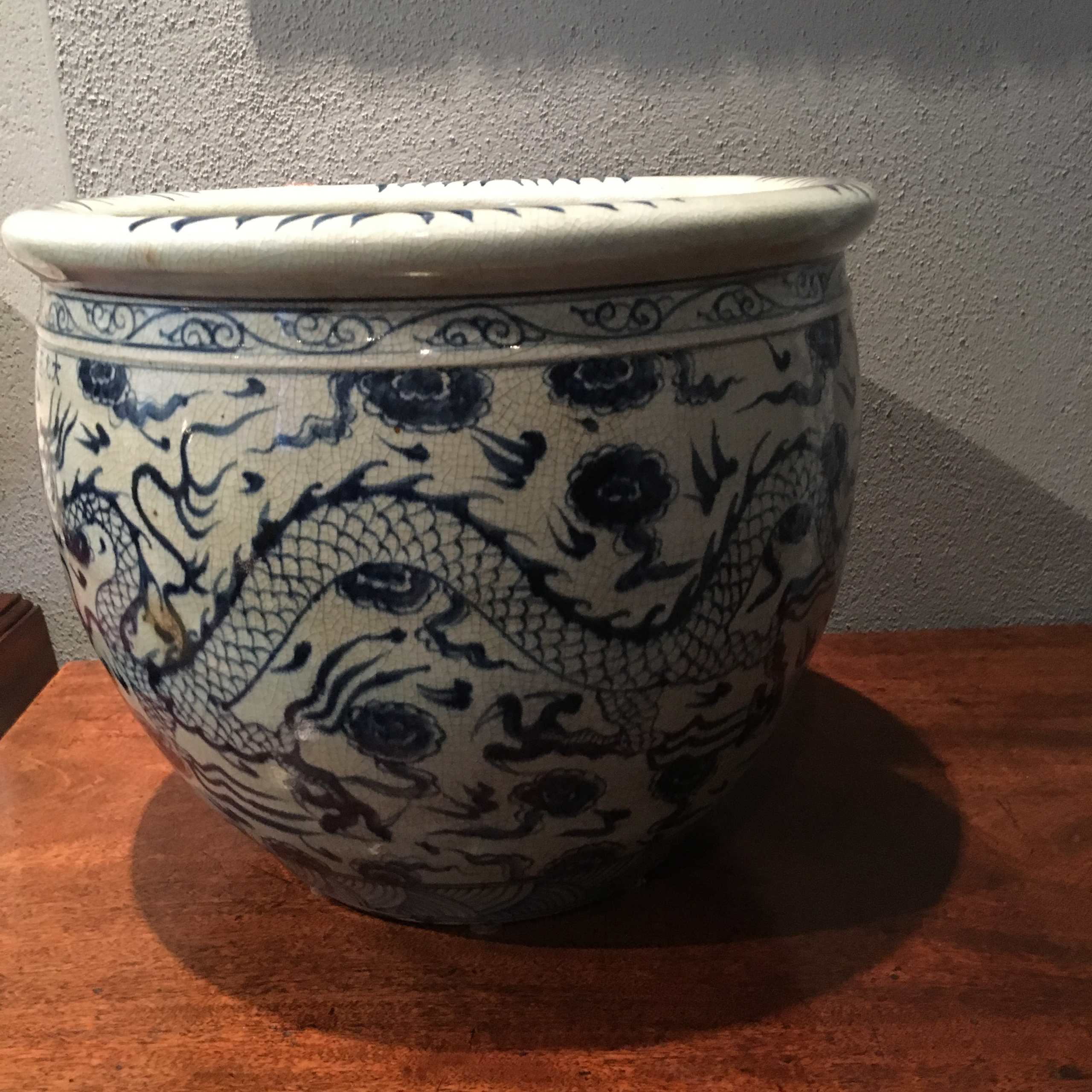 Cachepot/Fishbowl, Qing Dynastie
