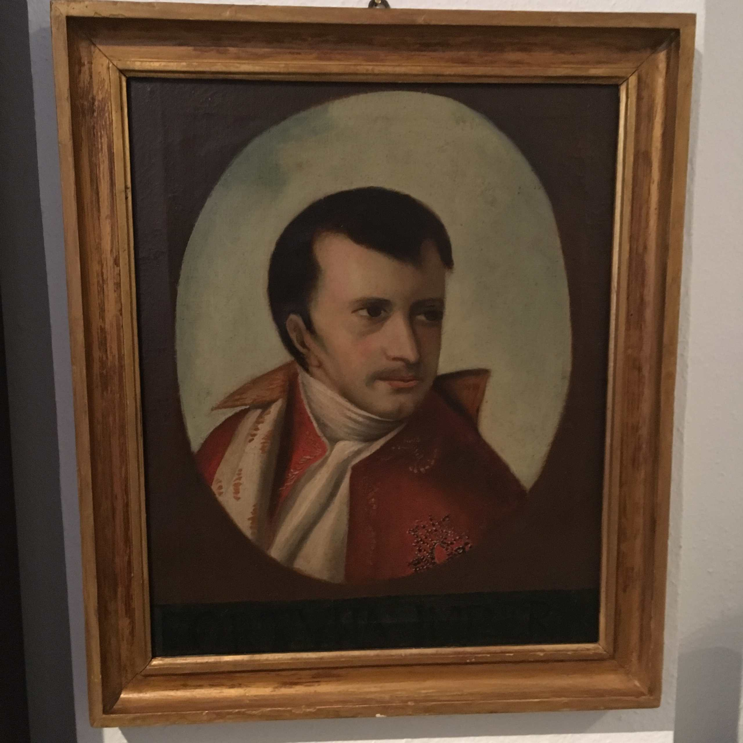 """Altmeisterliches Portrait Des """"jungen NAPOLEON I."""""""