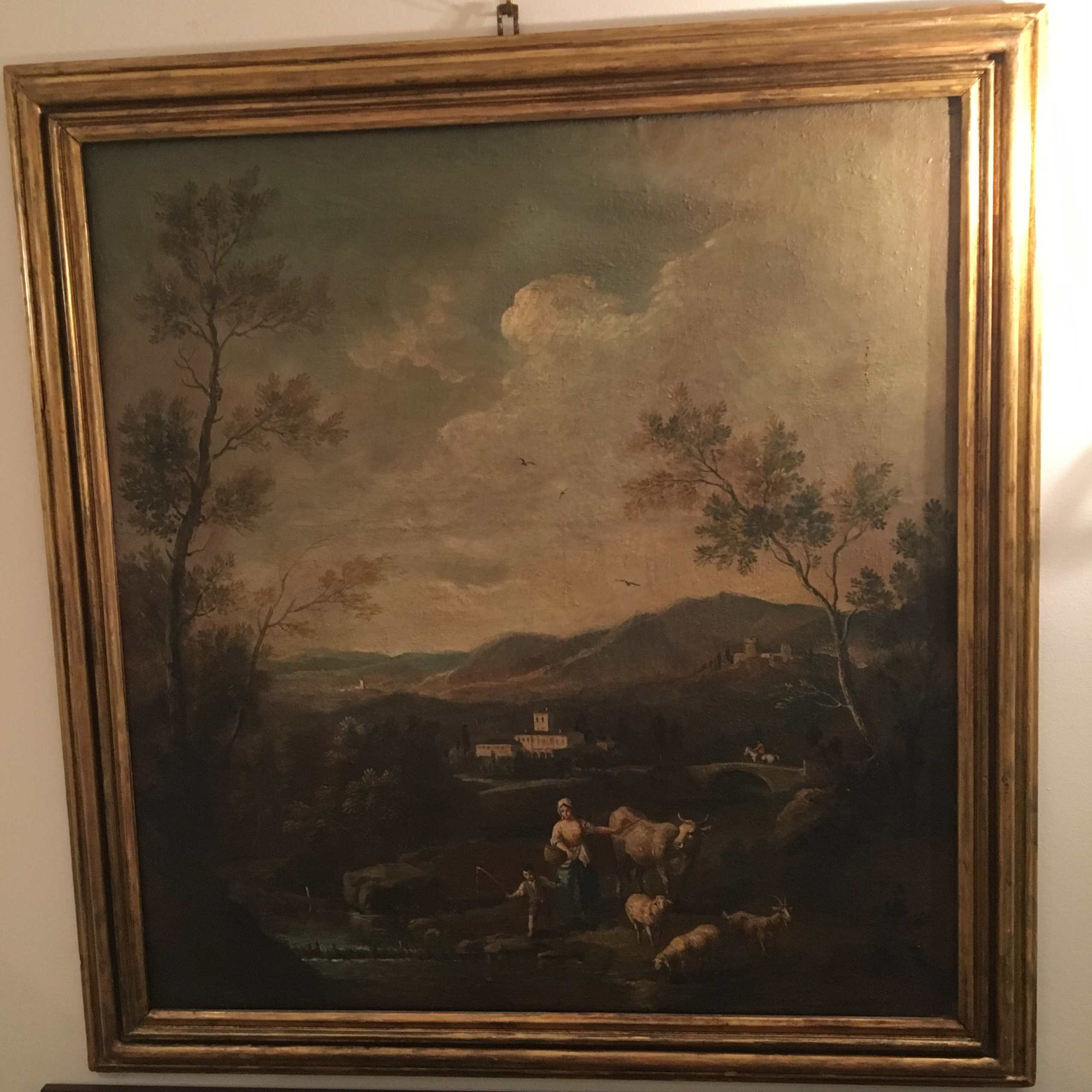 """Altmeistergemälde """"Landschaft Im Veneto"""""""