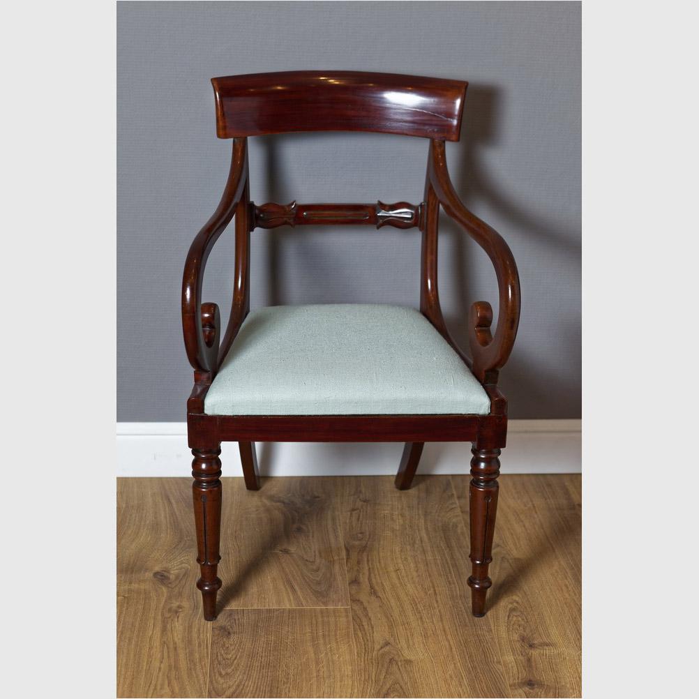 Carver Chair, Mahagoni