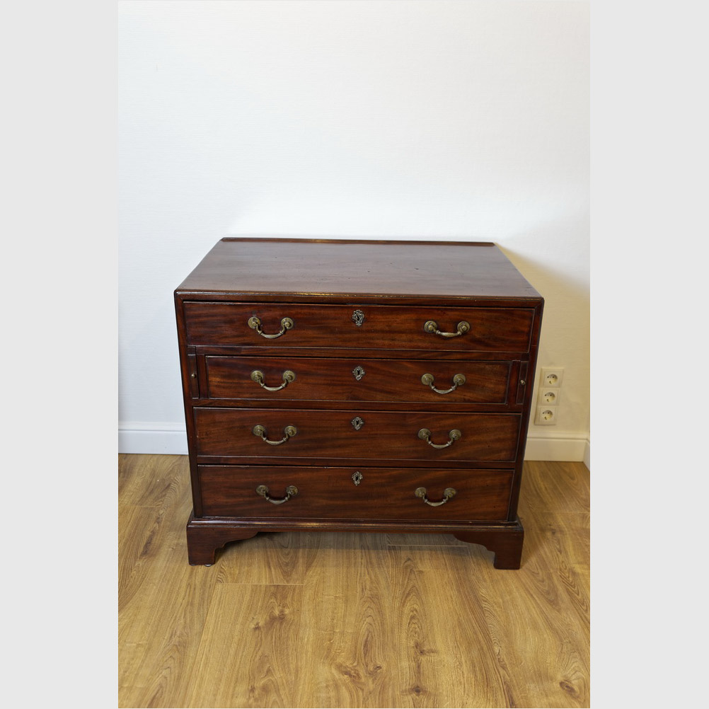 Chest Secretaire, Mahagoni
