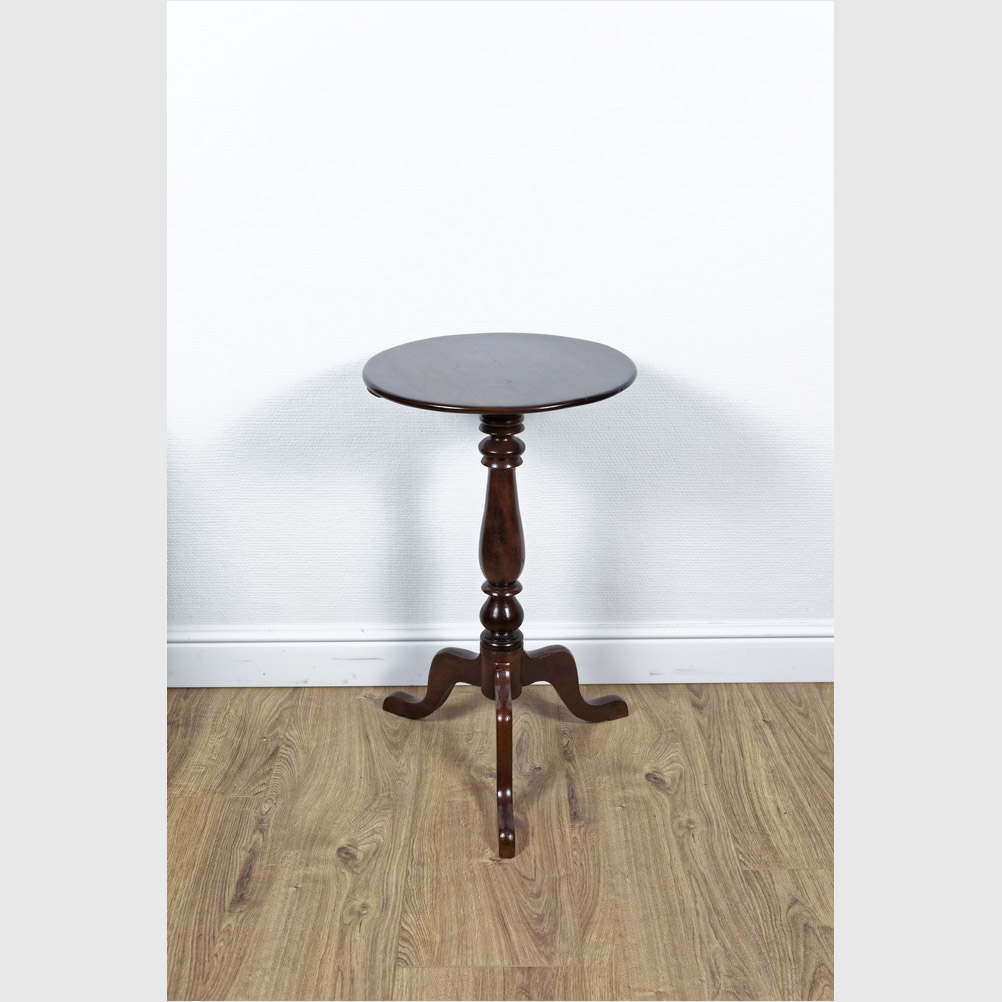 "Seltener ""Tripod Table"", Mahagoni"