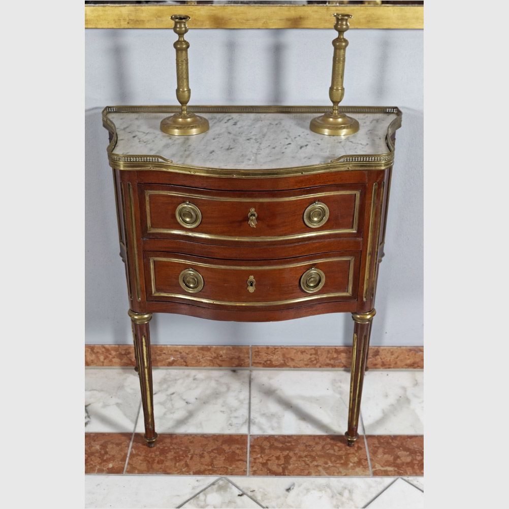 Seltene Kommode Im Louis XVI-Stil