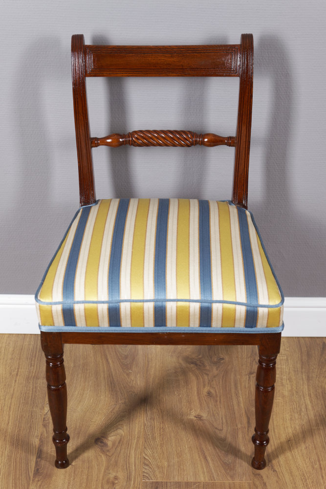 """Paar Stühle, Sog. """"Rope Back Chair´s"""""""